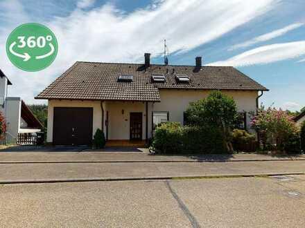 Großzügiges 2-FH in Hanglage mit unverbautem Weitblick, Ettlingen-Schluttenbach