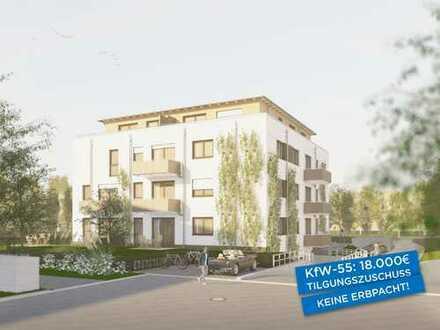 Ihr neues Zuhause: 4½-Zimmer-Wohnung mit Balkon am Park, KfW-55