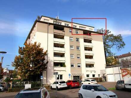 2-ZKB-Penthousewohnung mit Traumaussicht am Schafsplatz!