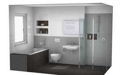 Gemütliche 3-Zimmer Wohnung mit 2 Terrassen - KfW-Effizienzhaus 55