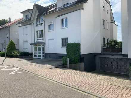 Exklusive, gepflegte 4-Zimmer-EG-Wohnung mit Balkon in Eggenstein