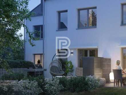 Modernes Reihenmittelhaus mit Garten und Tiefgarage