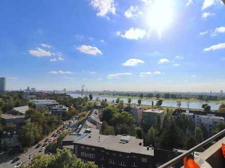 Exklusives Wohnen mit Panoramablick über den Rhein