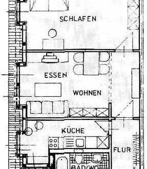 +++ tolle, renovierte Wohnung in ruhiger Lage im Hinterhaus +++