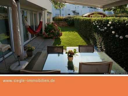 Exklusive 3-5-Zimmer-Wohnung mit Garten und Einbauküche in Neureut Heide