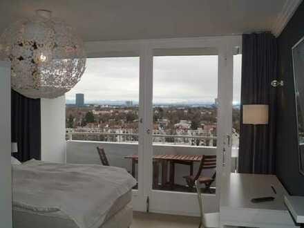 living smart - Stilvoll möbliertes Appartement mit Balkon und grandioser Aussicht