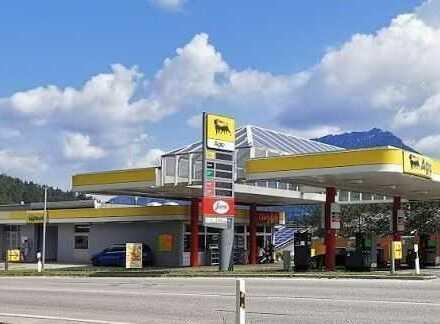 VOLLTREFFER! Grundstück als Renditeobjekt mit Pachtvertrag für eine Tankstelle!