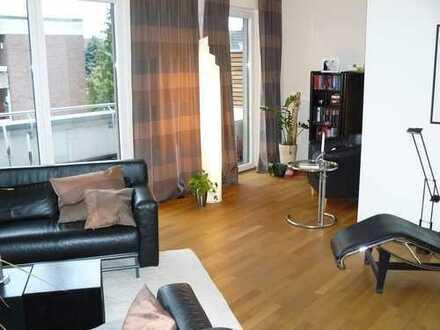 Schöne 3-Zimmer-Penthouse-Wohnung mit Balkon und EBK in Coesfeld