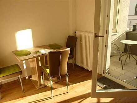 Ab August: Komplett möbl. Apartment mit Loggia in Baden-Baden nahe SWR inkl. Strom, WLAN