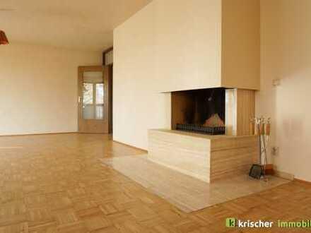 Ratingen Mitte - ruhige Wohnung mit grossem Wohnzimmer, Fussbodenheizung und Kamin