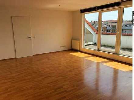 91 m² Dachgeschosswohnung mit Balkon und Stellplatz