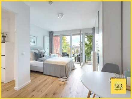 Hochwertig möbliertes 1-Zimmerappartment mit Balkon (WLAN inklusive)