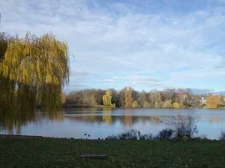 Grüne Oase mit Blick auf den Schäfersee! - modernisiert!
