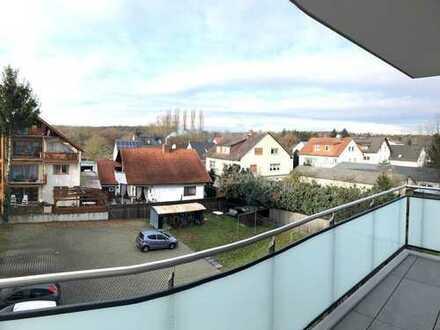 4 Zimmer-Neubauwohnung mit EBK, Balkon, Keller & Tiefgarage