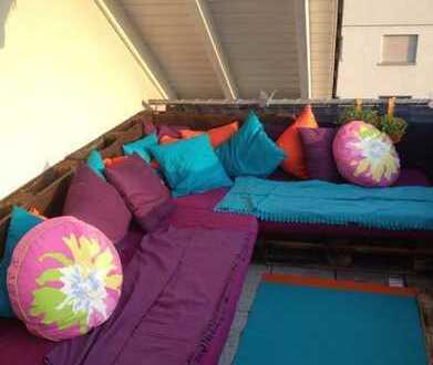 Attraktive 3-Zimmer-Dachgeschosswohnung mit Balkon in Dietzenbach