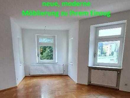 Möblierte Zimmer in 2er WG im Herzen Regensburgs (Erstbezug nach Renovierung, moderne Ausstattung)