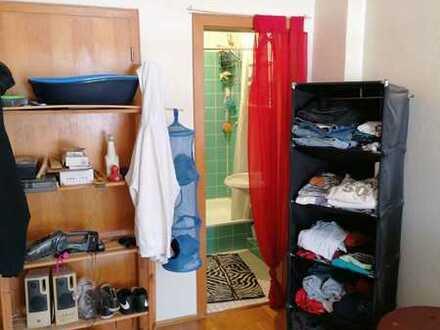Ein Zimmer Mitbenutzung Dusche, Bad und Küche