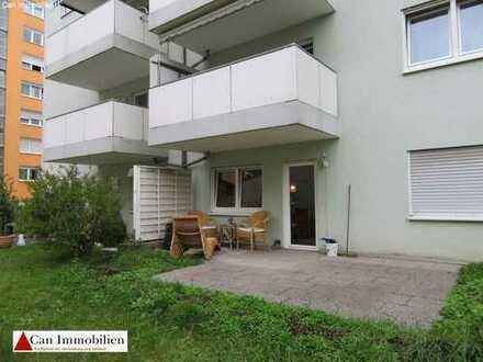 Schöne Wohnung mit Terrasse, direkt an der Raumfabrik