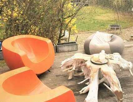 wochenendfahrer-zimmer in privathaus sachsenhausen - mit sauna, gym, stellplatz pkw