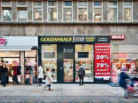 Provisionsfrei: Ladenlokal in frequenzstarker Shoppingmeile