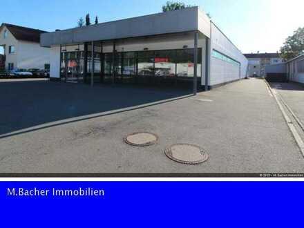 """Große Gewerbehalle in zentraler Lage im Gewerbegebiet """"Ludwigstal"""" in Tuttlingen"""