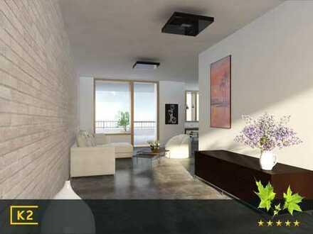 Marienburg - Exklusive 2-Zimmerwohnung mit Balkon/Loggia - Neubau Architektenhaus