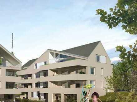 3 Zimmer DG Wohnung mit Dachterrasse, KfW 55 Effizienzhaus
