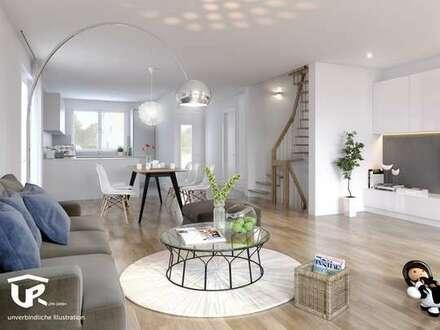Großzügige Doppelhaushälfte mit Garten und Dachterrasse