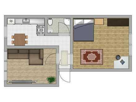 2 Zimmer Wohnung direkt an der Fußgängerzone der Aachener Innenstadt