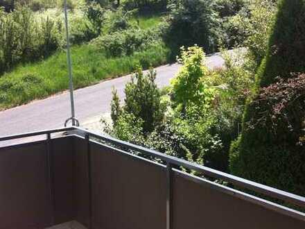 Großzügig geschnittene 2-Zimmer-Wohnung mit Tageslichtbad und Südbalkon in schöner Aussichtslage