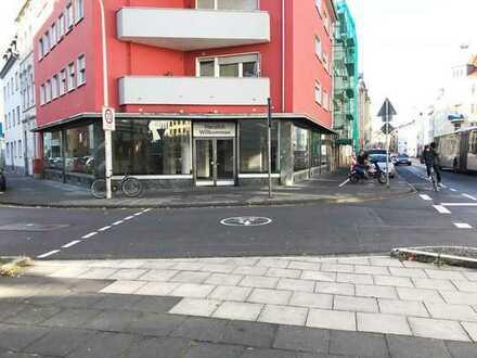 Bornheimer Straße Eckladengeschäft, vermietet