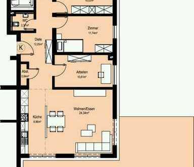 NEUBAU Schöne 4-Zi.-Wohnung in Bad Mergentheim