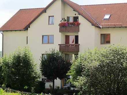 Schöne 2-Zimmer-Wohnung mit Balkon - 1. OG - Auf der Goldenen Höhe Waldheim
