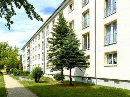Im Zentrum und doch im Ruhigen - 3-Raumwohnung mit Balkon!