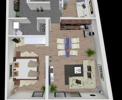 3 Zimmer Wohnung mit modernem Flair in Toplage