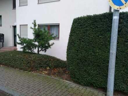 Gepflegte 4-Zimmer-EG-Wohnung mit Balkon und Einbauküche in Jettingen