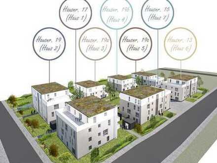 Erstbezug einer hellen 3-Zimmer Balkonwohnung (Haus 6, Wohnung-Nr. 6) mit Süd-Ost Orientierung