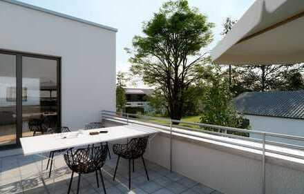 Penthouse mit zwei Dachterrassen und traumhaften Ausblick ins Grüne