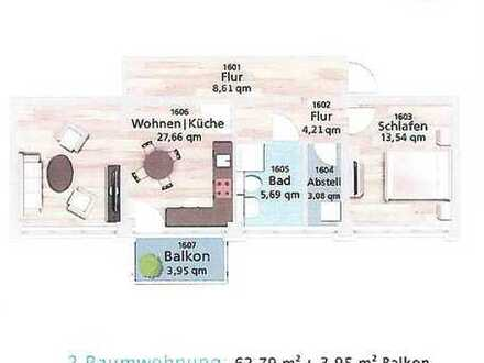 Moderne und großzügige Zwei-Raumwohnung sucht Nachmieter!