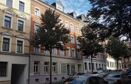mit tollem Blick über die Dächer von Chemnitz