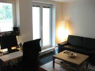 helle möblierte Souterrain-Wohnung in Hepberg