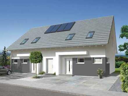 Zweifamilienhaus in Form eines Doppelhauses, inkl. Vollkeller!!!