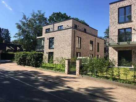 Neubau-Wohnung mit eigenem Garten in Wellingsbüttel