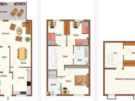 Wohnen am Waldrand - Gepflegte Reihenhäuser in Binsfeld zu vermieten - von 118 m² bis 140 m²