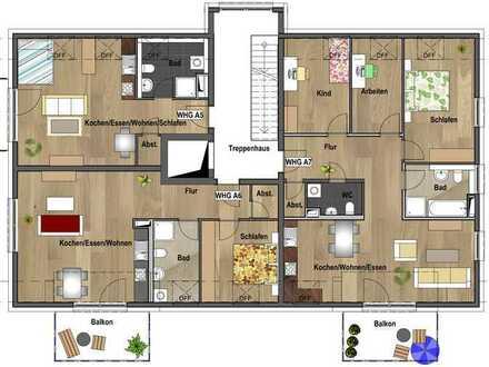 1.Dachgeschoss - Wohnung A05