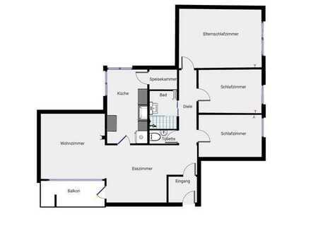 Familiengerechte 4,5 Zimmer-Wohnung mit TG-Stellplatz und Hallenbad
