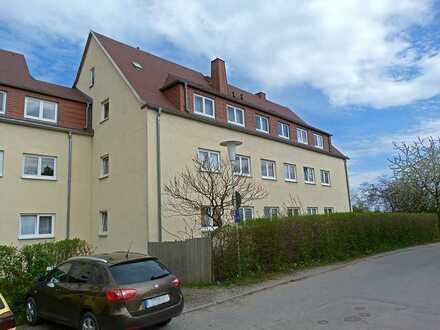 ***Über den Dächern - schöne 2- Raum- Wohnung in ruhiger Lage von Zwickau***
