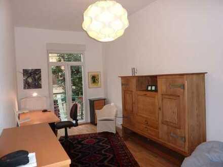 Wohnen in zentraler Lage,komplett möbiliert mit Küche & Spülmaschine (1 Zimmer in 2er WG)