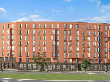 Offene 3 Zimmer Wohnung mit eigener Dachterrasse - in München dahoam!