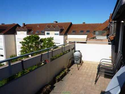 Schöne Dachwohnung mit großer Terrasse in Frankenthal